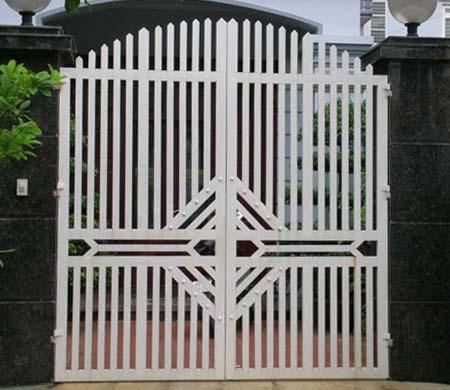 Sơn tĩnh điện cửa cổng